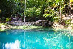 Blue Hole en Ocho Ríos, Jamaica