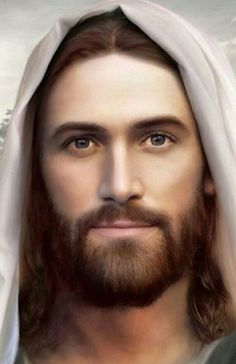 Jesus, the Christ. My most favorite picture of Jesus ❤ Images Bible, Pictures Of Jesus Christ, Jesus Christ Images, Religious Pictures, Jesus Our Savior, Jesus Is Lord, Image Jesus, Jesus Painting, Jesus Face