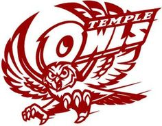 Vinyl Decal Sticker - Temple Owls Decal for Windows, Cars, Laptops, Macbook, Yeti, Coolers, Mugs etc