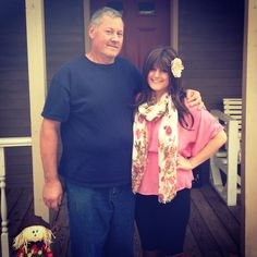 My dad, my strength, I love him more than anything.