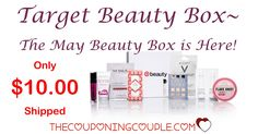 Woohoo!  The MAY TARGET BEAUTY BOX is here and ONLY $10.00 shipped! These Go FAST! Don't miss out!  Click the link below to get all of the details ► http://www.thecouponingcouple.com/10-item-target-beauty-box-only-10-shipped-go-now/ #Coupons #Couponing #CouponCommunity  Visit us at http://www.thecouponingcouple.com for more great posts!