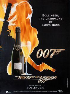 James Bond 007 Bollinger Ad