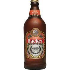 Cerveja Brasileira Light Lager Backer Pilsen 600ml