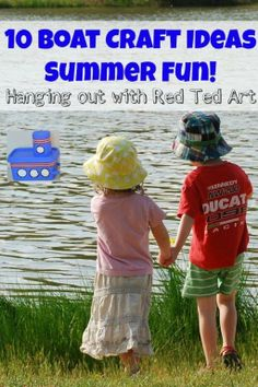 Summer may almost be over, but there is still time to visit your local water way! Here are 10 Boat Craft Ideas that you can make with your family. Be sure to add a string to your creation so it doesn't float away!