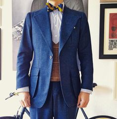 http://chicerman.com  kleidsam:  Never too much tweed on my feed.  Outfit details: #mtm Norfolk Tweed suit by @sonsofsavilerow Bespoke db tweed vest vintage shirt @ralphlauren silk bow tie  #menstyle #menswear #mensstyle #mensfashion #mensweardaily #style #instastyle #instafashion #styleiswhat #kleidsam #sonsofsavilerow #sosr #wiwt #ootd #outfitoftheday #whatiwore #whatiworetoday  #menshoes