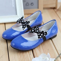 Grace Candy Bow-Accent Patent Flats PRICE  $35.00   #flats #fashion #shoe