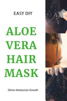 Easy DIY Aloe Vera Conditioner For Natural Hair This really Hair Mask For Damaged Hair, Hair Mask For Growth, Natural Hair Mask, Damaged Hair Repair, Diy Hair Repair, Aloe Vera Hair Mask, Aloe Vera For Hair, Anti Aging, Deep Conditioner For Natural Hair