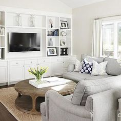Dove Gray Sectional