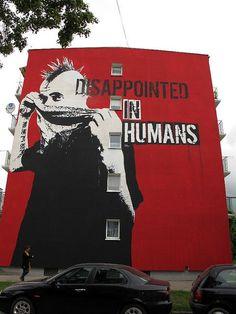 Decepcionado con los humanos...
