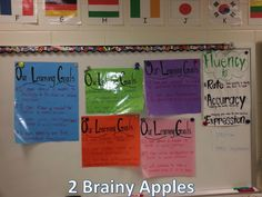 All Things Upper Elementary: Student Created Learning Goals
