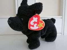 a0378275a91 RARE Ty Beanie Baby - SCOTTIE the Dog