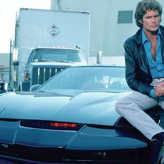 Knight Rider Kit and the Hoff Best 80s Tv Shows, 80 Tv Shows, Sci Fi Tv Shows, Breaking Bad, Kitt Knight Rider, K 2000, Tv Retro, Mejores Series Tv, New Retro Wave