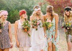 ボヘミアンスタイルの着こなしが可愛い♡ブライズメイドのファッションColloction | marry[マリー]