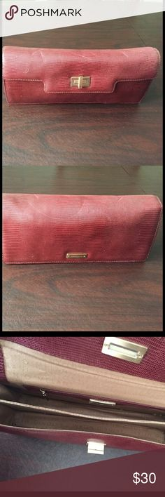Antonio Melani Clutch This is a nice burnt red Antonio Melani clutch purse that can be carried under your arm or in your hand. Brand new, never used. ANTONIO MELANI Bags Clutches & Wristlets