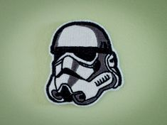 Stormtrooper -- Star Wars Storm Trooper Embroidered Iron-on Patch. $5.00, via Etsy.
