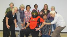 SAFE Older Adult Personal Safety Parties are fun and educational!