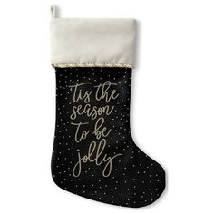 Tis The Season Christmas Stocking