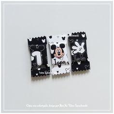 50 Balas Personalizadas Mickey Mouse
