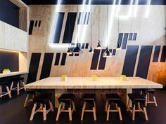 11 Inch Pizzeria by Zwei Interiors Architecture. Who knew pizza could be so chic?