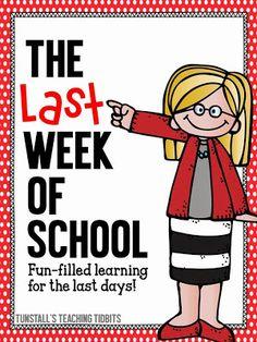 https://www.teacherspayteachers.com/Product/The-Last-Week-Of-School-247642