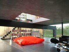 Vista interior. Maison à Bordeaux por Rem Koolhaas. Fotografía © cortesía de OMA.