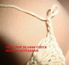Roupas Artesanais: CROPPED