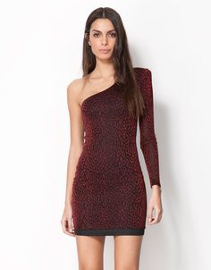 Bershka Turkey - Bershka asymmetrical dress