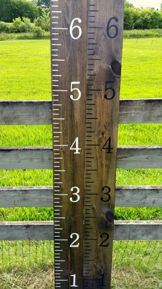 Wooden growth chart rulers Hand painted homemade by HentgesCrafts
