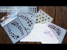 A Way With Stencils | Technique Friday with Els - YouTube