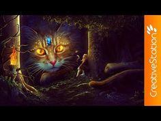 Fantasy - Speed art (#Photoshop) | CreativeStation - YouTube