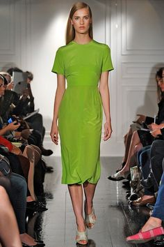 dress by Emilia Wickstead. spring/summer 2013 collection