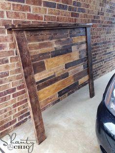 DIY Planked Headboard tutorial