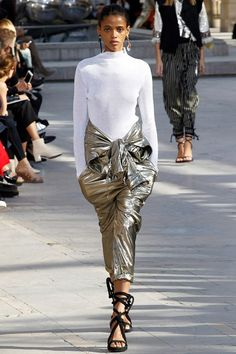 Isabel Marant at Paris Fashion Week