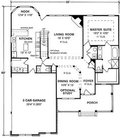 Strong Traditional Lines - 4094WM | 1st Floor Master Suite, CAD Available, Corner Lot, Den-Office-Library-Study, Media-Game-Home Theater, PDF, Photo Gallery, Traditional | Architectural Designs