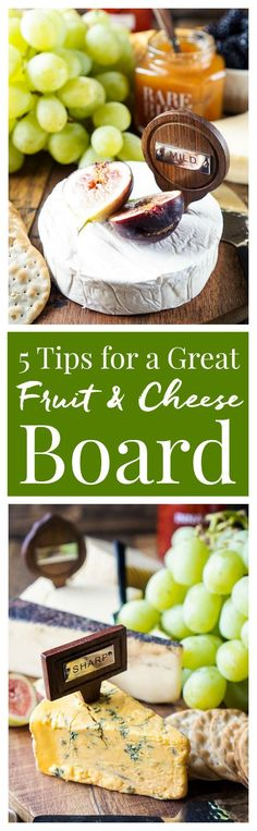 These 5 Tips for a Great Fruit and Cheese Board will have you entertaining with flavor and style! Learn how to choose cheeses and pairings, how to style and serve them, plus tips for doing it on a budget! This is a great appetizer for any get together and doesn't require any cooking! #Shaws #CheeseSale ad: