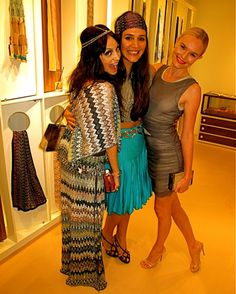 nicole richie, margherita missoni and kate bosworth...killer outfits