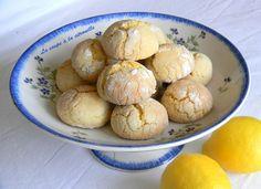 saveurs Italienne : Biscuits tendres au citron (Biscotti morbidi al limone)