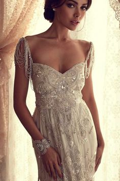 Anna Campbell Gossamer Collection ~ how amazing would this be for a beach wedding?!