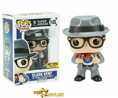Get to know the real Clark Kent in Funko's Pop…
