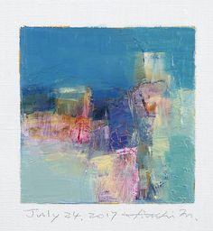 https://flic.kr/p/X3xmB2 | july242017 | Oil on canvas  9 cm x 9 cm  © 2017 Hiroshi Matsumoto www.hiroshimatsumoto.com