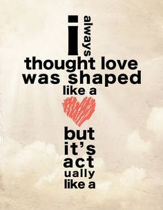 The real shape of Love