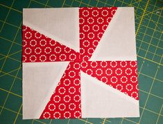 Pinwheel, Whirligig, whatever you want to call it, this is my favorite quilt to make! What I like most about this particular pinwheel pattern is that I don't have center points to worry about…