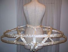 """45"""" paniers from Cinderella's Closet - a custom order, but worth considering if things get desperate http://www.cinderellas-closet.org/hcundergarments.htm"""