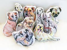 wow, I don't know if I want this for me, or for my dog! Squeaky dog toy the same breed as your dog (if its one of the options on offer) how gorgeous. Squeaky dog toy or pet toy  bulldog frenchie by CheekyRascal