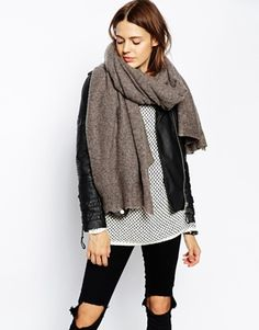 Enlarge ASOS Oversized Knit Scarf