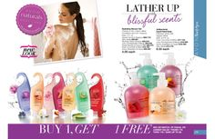 All Avon Naturals are on sale in campaign 18 Buy One Get One FREE!! That's right! Shower gel, body spray, lotion and hand soap!!! Stock up on all your favorite scents at www.youravon.com/ncwalker210