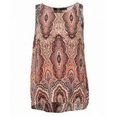 PAISLEY FLOATY TOP - Tops - Clothing