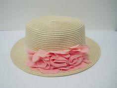 Summer sun hat beach hat sun hat lace flower hat
