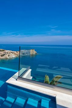 Villa Lygaria is a villa with a brand new private pool meters), lovely panoramic sea views, 500 meters on foot from the most lovely san. Crete Holiday, Next Holiday, Romantic Vacations, Enjoying The Sun, Beautiful Places To Visit, Greek Islands, Beautiful Islands, Luxury Travel, Best Hotels