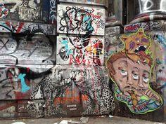 Graffiti on 190 Bowery, NYC #Germaniabank #JayMaisel